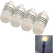 G4 youoklight® 4pcs 4w 8 * SMD3014 120lm bombillas de color blanco cálido / frío de maíz de luz (ac / dc12v) ( Color de Luz : Blanco Frío )