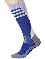 adidas TT COMF HC 1PP - Medias unisex, color azul / blanco / gris, talla 34-36