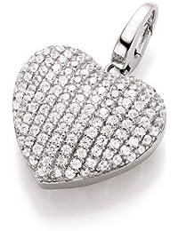 Spirit - New York Damen-Anhänger 925 Silber rhodiniert Zirkonia weiß Brillantschliff - 98000193