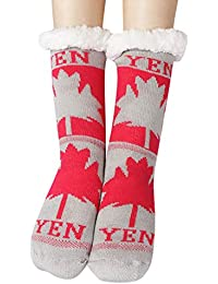 Socks Calcetines de Piso Suave Calcetines Mujer Hombres Calcetines Antideslizantes Calcetines de Deporte Calcetines Térmicos para