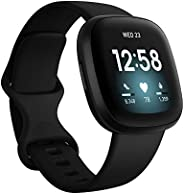 Fitbit Versa 3 Health & Fitness Smartwatch with GPS, 24/7 Heart Rate, Voice Assistant & up to 6+ Days