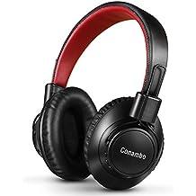 Conambo Active Noise Cancelling Kopfhörer Bluetooth Kopfhörer Faltbar Leichtgewicht Rauschunterdrückung für Musik und Reisen Große Driver Over Ear Schwarz CQ7