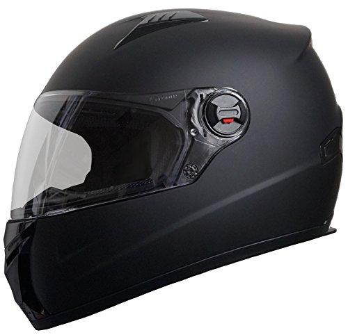 RALLOX 708 Motorradhelm, schwarz/matt, alle Größen