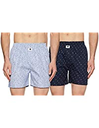 Symbol Amazon Brand Men's Printed Boxers