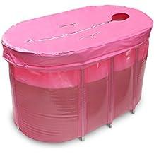Doble el plastico No inflable Plegable Bañera adulto bañera