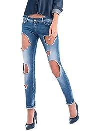Salsa - Jeans déchirés - Shape up Push Up - Femme