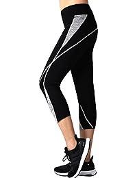 cdaa3e0f3a33 Neonysweets Womens Capri Workout Pants Running Yoga Pants Active Leggings