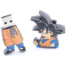 Memoria USB 2.0 de 64 GB con diseño de bola de dragón