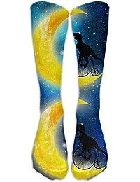 ruichangshichengjie Great Dane Love Great Dane Casual Unisex Sock Knee Long High Socks Sport Athletic Crew Socks One Size 50CM