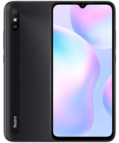 "Oferta de Xiaomi Redmi 9A - Smartphone 2GB 32GB, Pantalla HD de 6.53"",MediaTek Helio G25, batería 5000mAh, Cámara Trasera de 13MP Al, Gris"