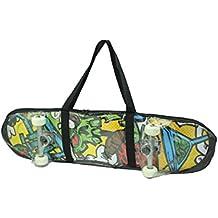 420d Nylon Bolso Messenger Bag–Tabla de skate (del paquete impermeable bolsa de transporte–Tabla de skate ( Negro negro