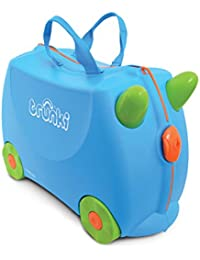 Trunki Children's Ride-On Suitcase: Terrance (Blue)