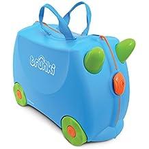 Trunki Children's Ride-On Suitcase: Terrance (Blue)