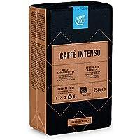 """Marque Amazon - Happy Belly Café torréfié moulu """"Caffè Intenso"""" (4 x 250g)"""