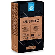 "Marca Amazon - Happy Belly Caffè tostato macinato ""Caffè Intenso"" (4 x 250g)"