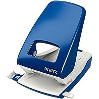 Leitz NeXXt 50081001 - Perforadora (2 agujeros), 40 hojas de capacidad, Azul,