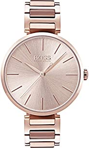 Hugo Boss Women's Silver Dial Metal Band Watch - 150