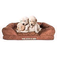 La Cama Del Perro, Premium ortopédica de espuma de memoria impermeable perro camas, 5