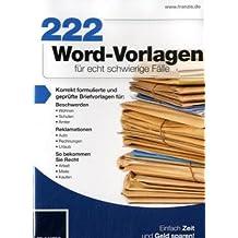 222 Word-Vorlagen