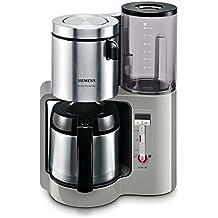 Siemens TC86505 Kaffeemaschine Mit Edelstahl Thermokanne 1100 Watt Max,  8/12 Tassen,