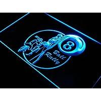 Insegna al neon s205-b 8 Ball Billiard