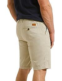 Herren Leinen Chino Shorts Threadbare Knielang Halbe Hose Freizeit Sommer  Mode ca65a831b0