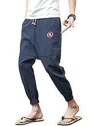 ADELINA Pantalones Deportivos Pantalones Deportivos Harem Pantalones  Hombres Hombres Pantalones Largos Ropa Sueltos Cómodo Pantalones Largos 9ec89e34f5e