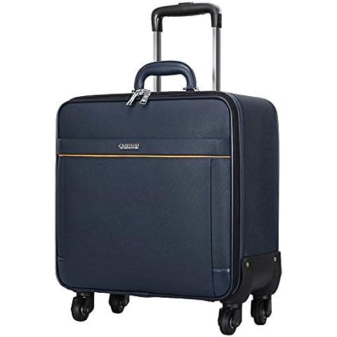 Inicio Monopoly Caja de la carretilla de embarque del caso de la maleta de equipaje de la maleta de equipaje impermeable, ligero y