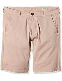 SELECTED HOMME Herren Shorts SHHPARIS NAVY ST SHORTS NOOS