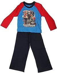 Marvel - Conjunto de Pijama de Manga Larga con diseño de Los Guardianes de la Galaxia