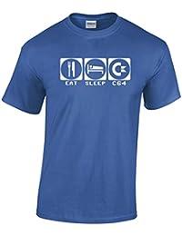 Eat, Sleep, C64 Commodore 64 Inspired T-Shirt