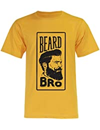 PALLAS Unisex's Beard Bro Great Beard Funny T-Shirt