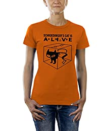Touchlines Damen T-Shirt - Schroedingers Cat is Alive Ladies