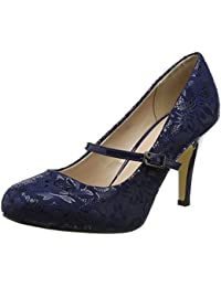 1ea13e357fc29 Amazon.co.uk: Blue - Mary Janes / Women's Shoes: Shoes & Bags