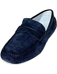 Armani Jeans Schuhe Herrenschuhe Shoe Slipper Mokassin 935588 blau
