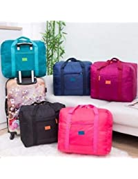 VP STORES® Nylon Waterproof Foldable Bag Organizer(Multicolour)