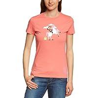 Paul Frank  - Camiseta de running para mujer, tamaño XS, color dubarry