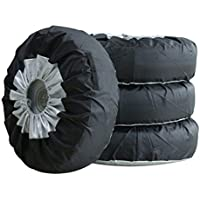 1/2/4 bolsas de neumáticos, funda de almacenamiento para llantas de coche