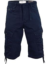 New Mens Designer Kangol Chinos Bermuda Casual Knee Legnth Cargo Shorts