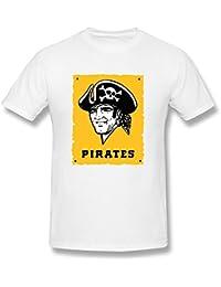 Desolate Men's Pittsburgh Pirates T-shirt Black Black