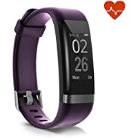 moreFit Heart Rate Monitor, Dare Activity Fitness Tracker Watch with 14 Exercise Mode, Wireless Smart Bracelet as Pedometer Calorie Counter and Sleep Tracker for Kids Women Men