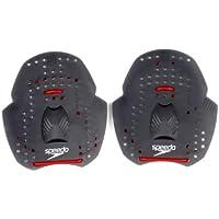 Speedo Power Paddles Material de Entrenamiento, Unisex Adulto, Grey, S