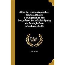 GER-ATLAS DER MIKROSKOPISCHEN