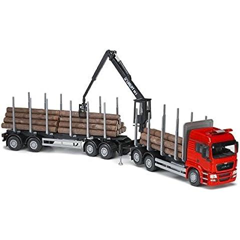 EMEK - EM71795 - MAN TGS LX madera remolque de camión, 1:25