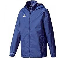 adidas Core 15 Regenjacke Kinder dunkelblau / weiß, 140