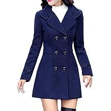 hot sale online af954 a3dfb Amazon.it: cappotto donna elegante - Blu