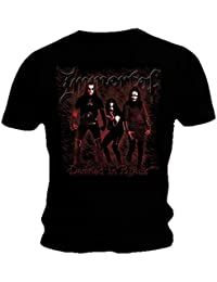 Immortal Official T Shirt Black Death Metal Damned In Black All Sizes