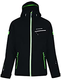 Dare2b Mens Enthuse Waterproof Breathable Insulated Ski Jacket Black