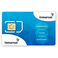 Inmarsat IsatPhone Pro and IsatPhone 2 Prepaid SIM Card with 100 Units (77 Minutes*)