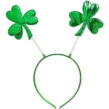 Del día de St. Patrick Head Boppers Sombrero Headware Accesorio para irlandesa Irlanda St Patrick Fancy Dress Up Disfraces y Trajes